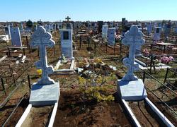 Мраморный памятник крест